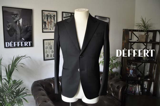 0d293b179a51f8e6a2cffeec062d0792 お客様のスーツの紹介-Biellesi ブラックスーツ-