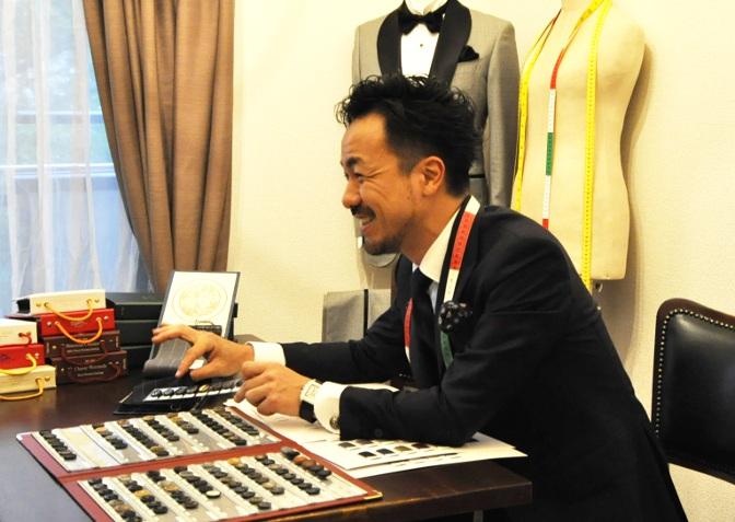 16 ごあいさつ 名古屋の完全予約制オーダースーツ専門店DEFFERT