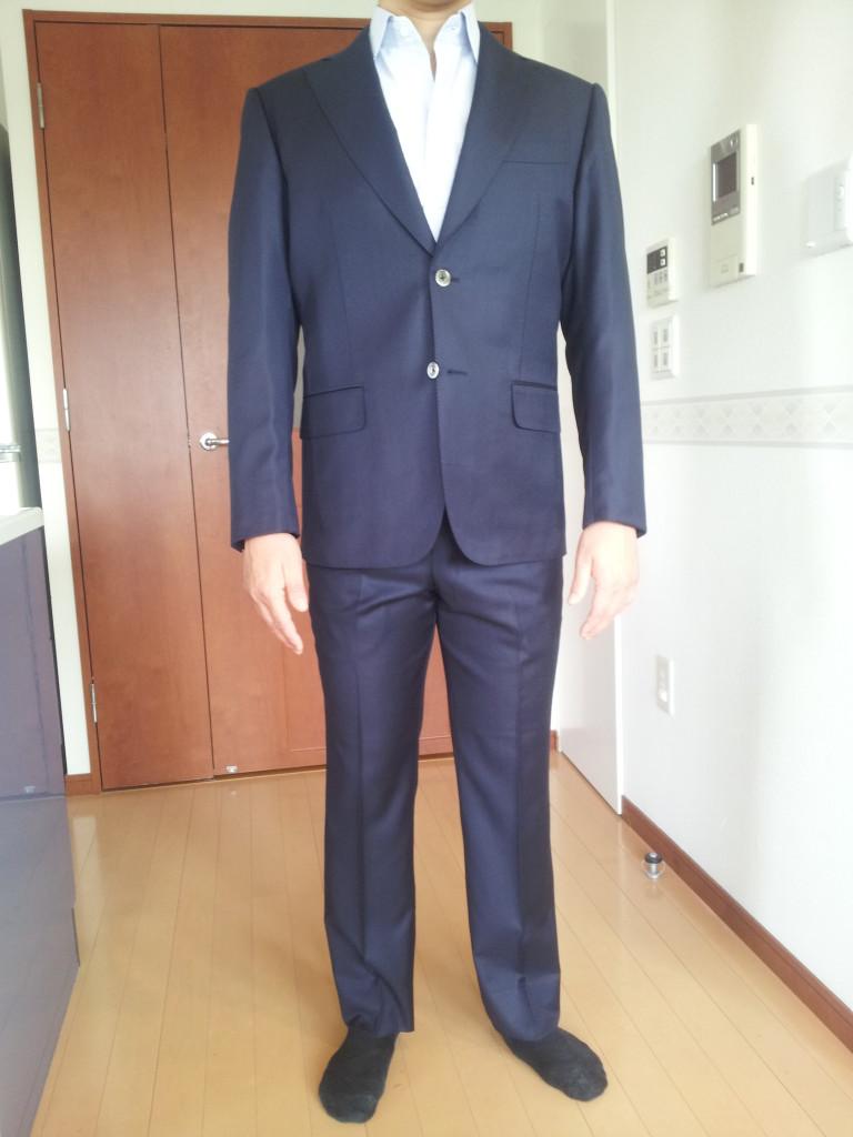 20140125_1036471-768x1024 オーダースーツ- TALLIA DI DELFINO ネイビースーツ-