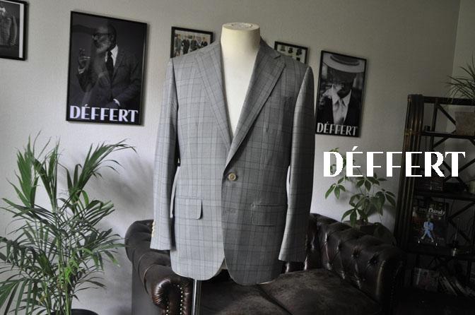 408dd3034cfcc660f28138e3f902ca67 お客様のスーツの紹介-DORMEUIL Tropical Amadeus グレーチェック -