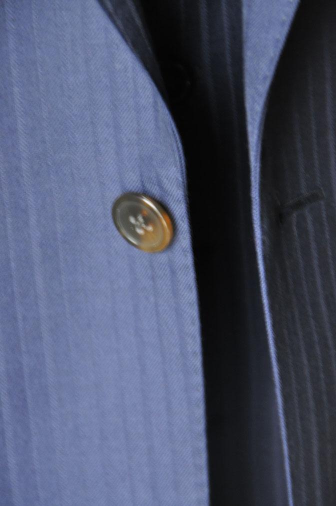 47ae27ef34b6c30489c6e86f6eb6e860 お客様のスーツの紹介-御幸毛織 ネイビーシャドーストライプ-