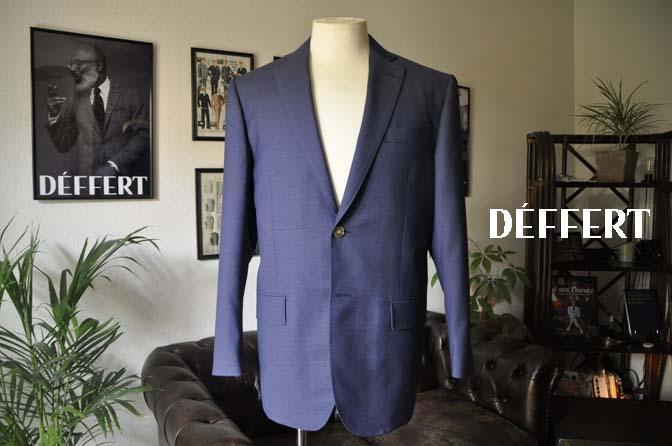 7e82ed22af1bc80748cd1cf753cb2bbc お客様のスーツの紹介-Biellesi ネイビースーツ-