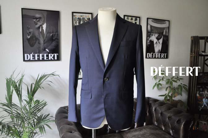 914e461903e055f990b8f678aee05959 お客様のスーツの紹介-Biellesi 無地ネイビースーツ-