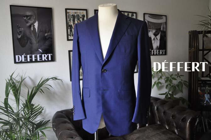 98071927e643ae2ac0ded7a45d6c384c お客様のスーツの紹介-TALLIA DI DELFINO ネイビー千鳥格子-