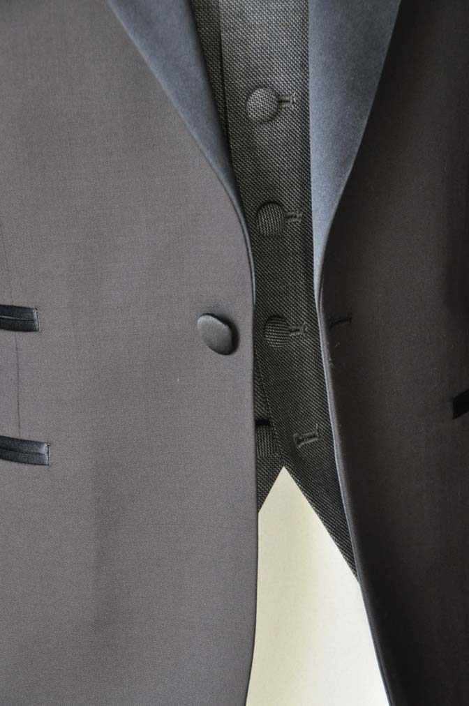 DSC0001-1 お客様のウエディング衣装の紹介- Biellesiブラウンタキシード-