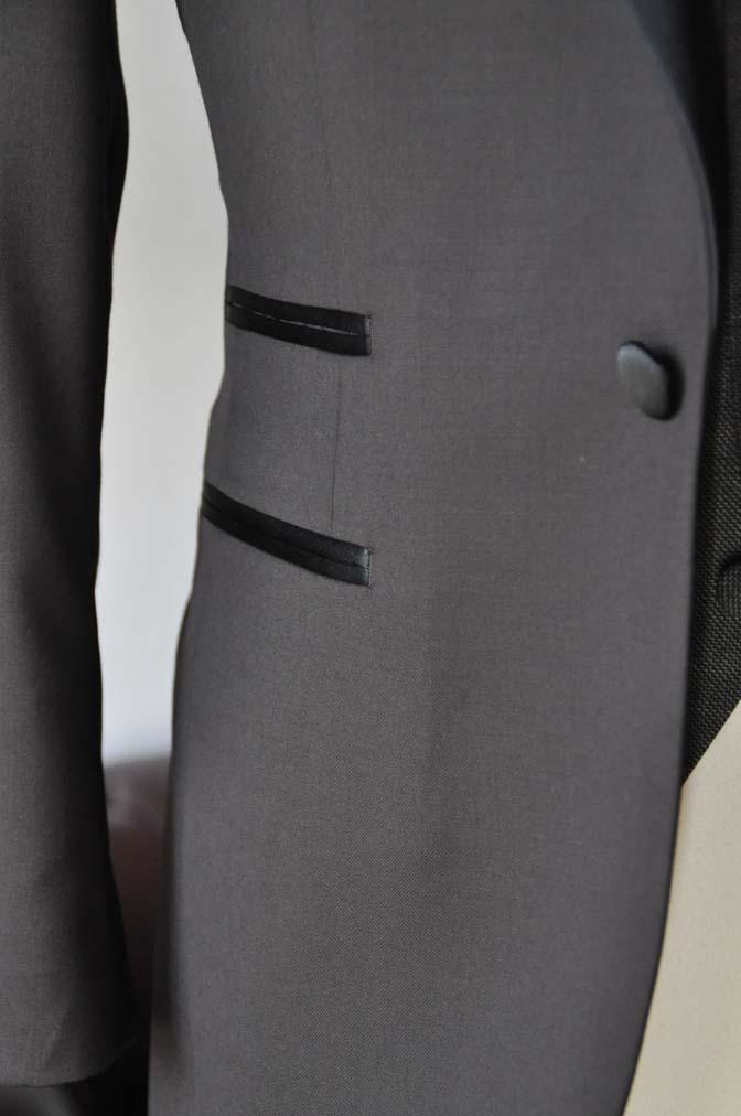 DSC0002-1 お客様のウエディング衣装の紹介- Biellesiブラウンタキシード-