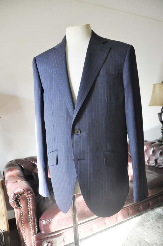 DSC0006-4 お客様のスーツの紹介-Biellesi ネイビーストライプスーツ-