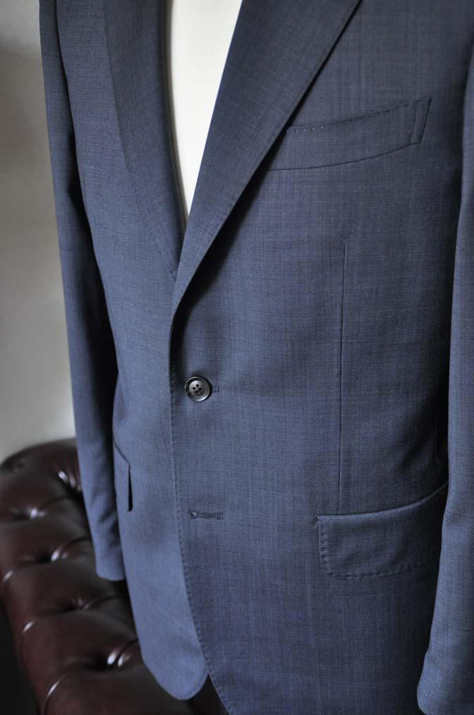 DSC0009-1 お客様のスーツの紹介- Biellesi ネイビーグレー- 名古屋の完全予約制オーダースーツ専門店DEFFERT