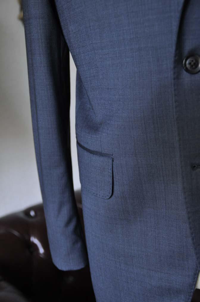 DSC0010-1 お客様のスーツの紹介- Biellesi ネイビーグレー- 名古屋の完全予約制オーダースーツ専門店DEFFERT