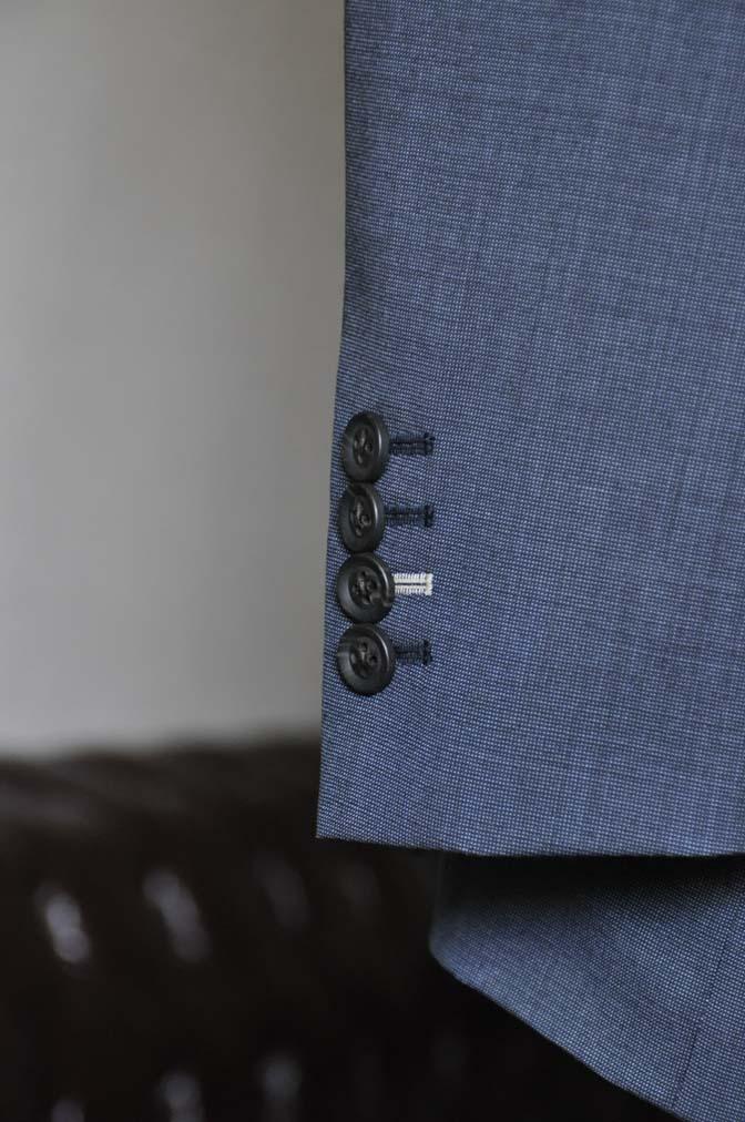 DSC0011-1 お客様のスーツの紹介- Biellesi ネイビーグレー- 名古屋の完全予約制オーダースーツ専門店DEFFERT