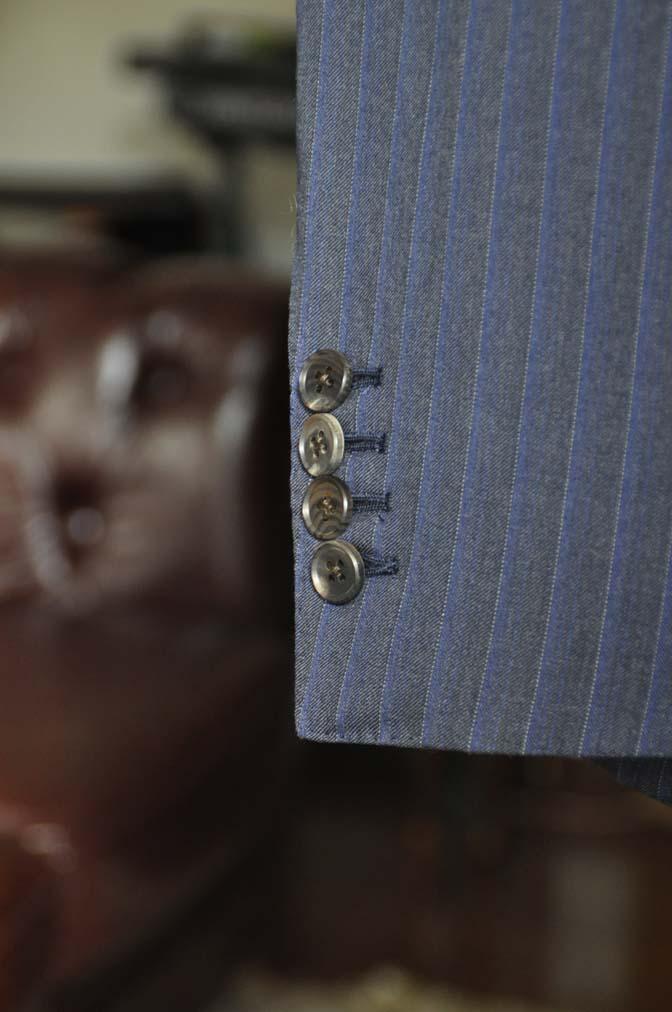 DSC0017-3 お客様のスーツの紹介-Biellesi ネイビーストライプスーツ-
