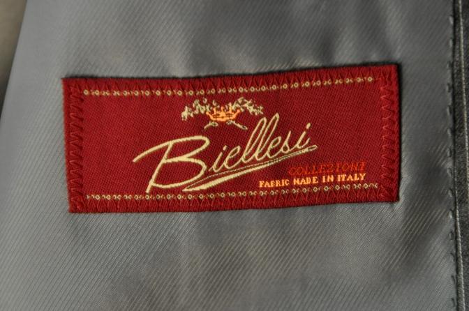 DSC00303 お客様のスーツの紹介-BIELLESI グレーストライプ-
