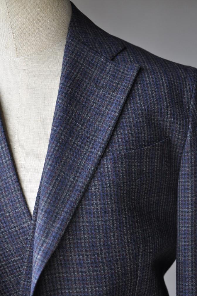 DSC00321 お客様のスーツの紹介-チェック柄ダブルジレスリーピース-