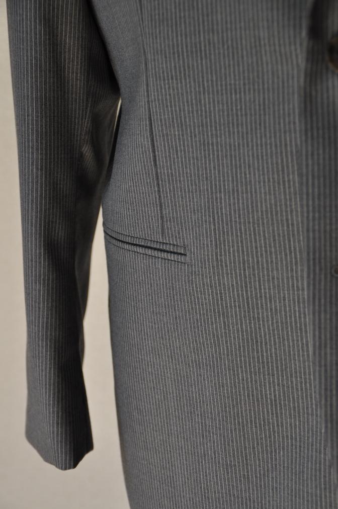 DSC00352 お客様のスーツの紹介-BIELLESI グレーストライプ-