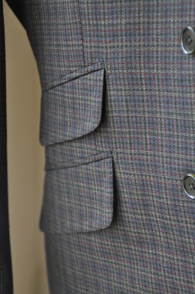 DSC00381 お客様のスーツの紹介-チェック柄ダブルジレスリーピース-
