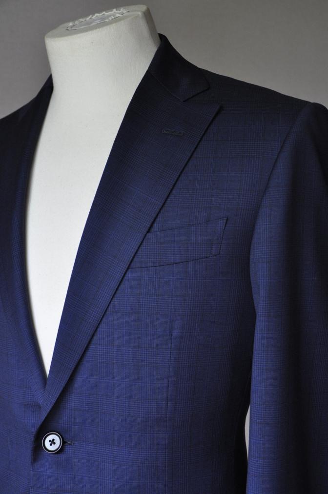 DSC00472 お客様のスーツの紹介-BIELLESI ネイビーチェック-