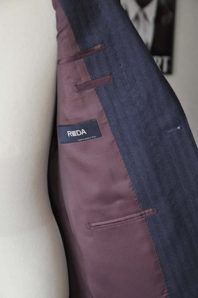 DSC00474 お客様のジャケットの紹介- REDA ネイビーヘリンボーン-