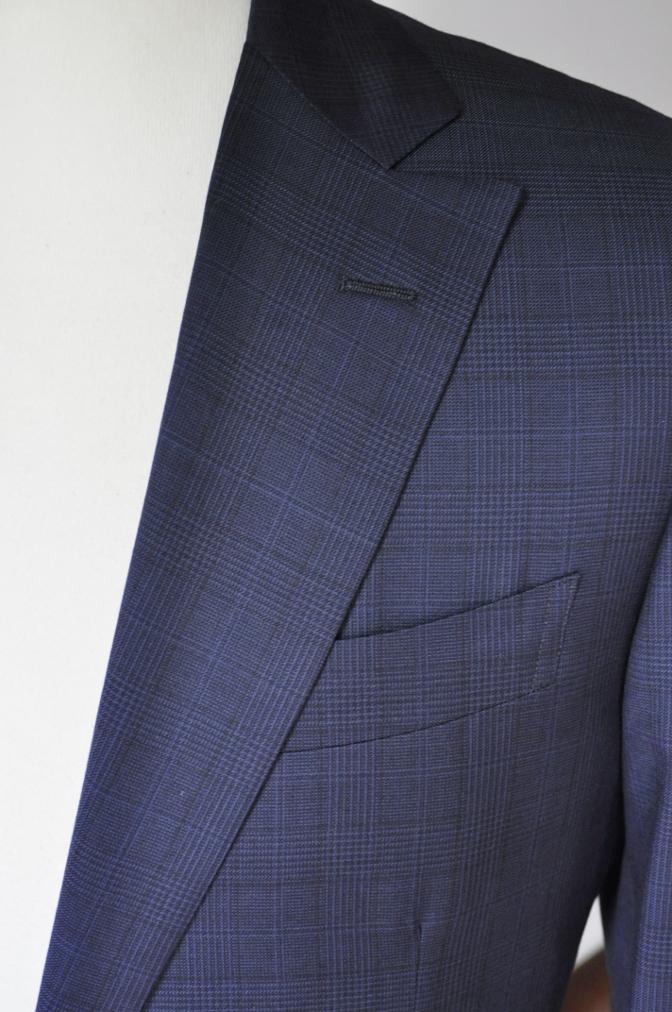 DSC00481 お客様のスーツの紹介-BIELLESI ネイビーチェック-