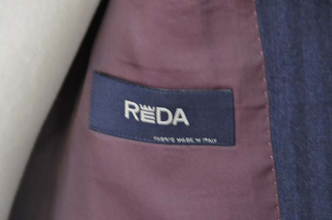 DSC00483 お客様のジャケットの紹介- REDA ネイビーヘリンボーン-