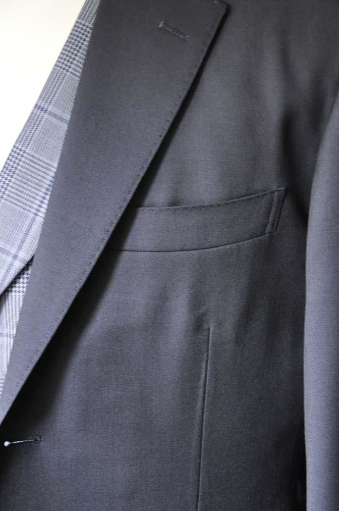 DSC0049-2 お客様のウエディング衣装の紹介-Biellesi ネイビースーツ ネイビーチェックベスト-