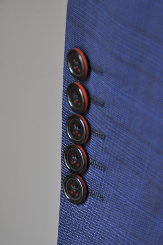 DSC00522 お客様のスーツの紹介-BIELLESI ネイビーチェック-