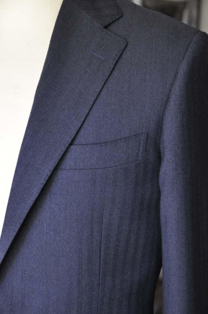 DSC00524 お客様のジャケットの紹介- REDA ネイビーヘリンボーン-