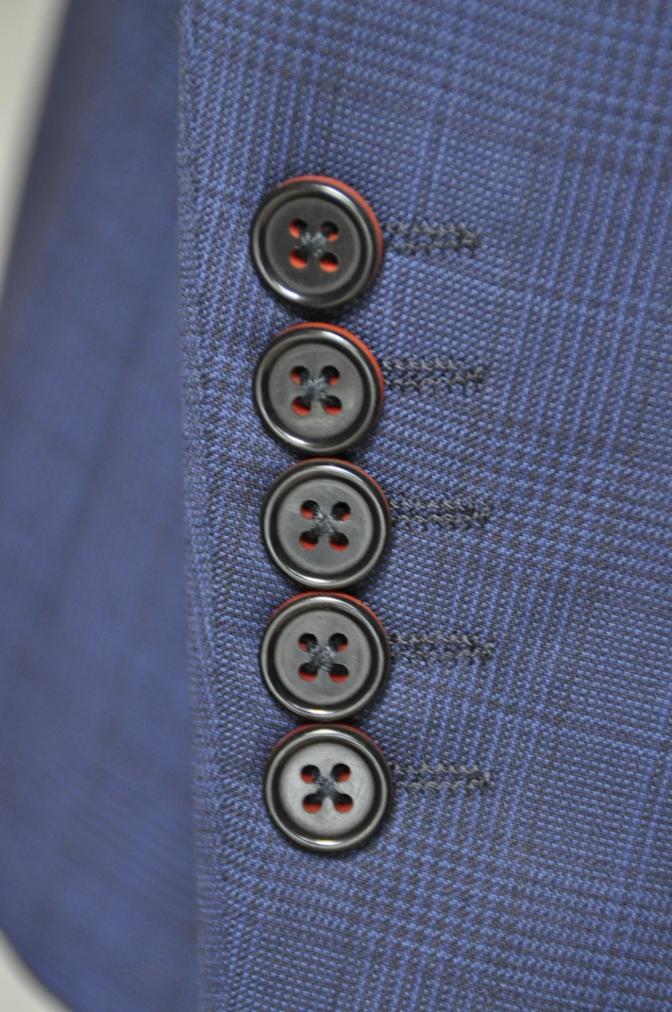 DSC00533 お客様のスーツの紹介-BIELLESI ネイビーチェック-