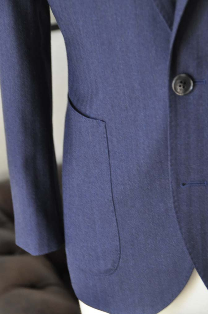 DSC00571 お客様のジャケットの紹介- REDA ネイビーヘリンボーン-