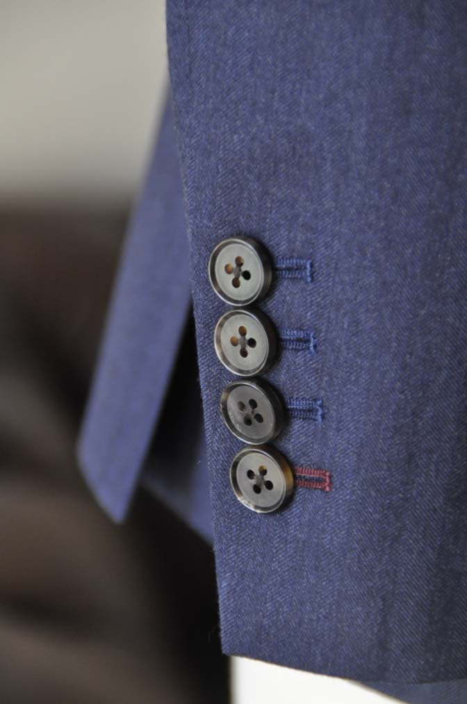 DSC00592 お客様のジャケットの紹介- REDA ネイビーヘリンボーン-