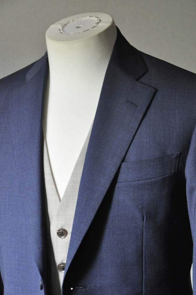 DSC0063-2 お客様のウエディング衣装の紹介-Biellesi ネイビースーツ ベージュベスト-