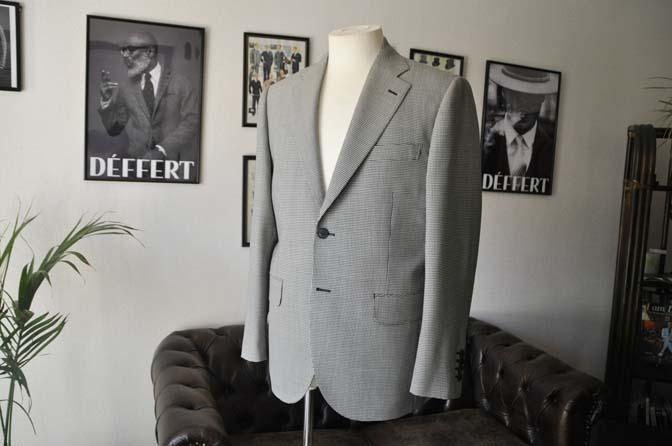 DSC00632 お客様のジャケットの紹介-千鳥格子シングルジャケット-