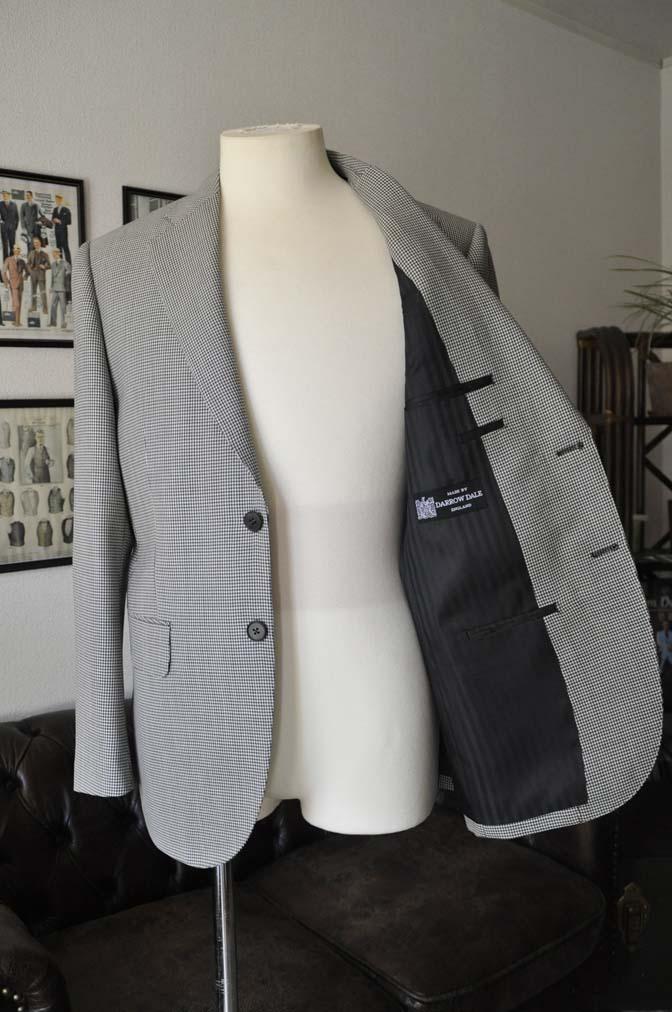 DSC00654 お客様のジャケットの紹介-千鳥格子シングルジャケット-