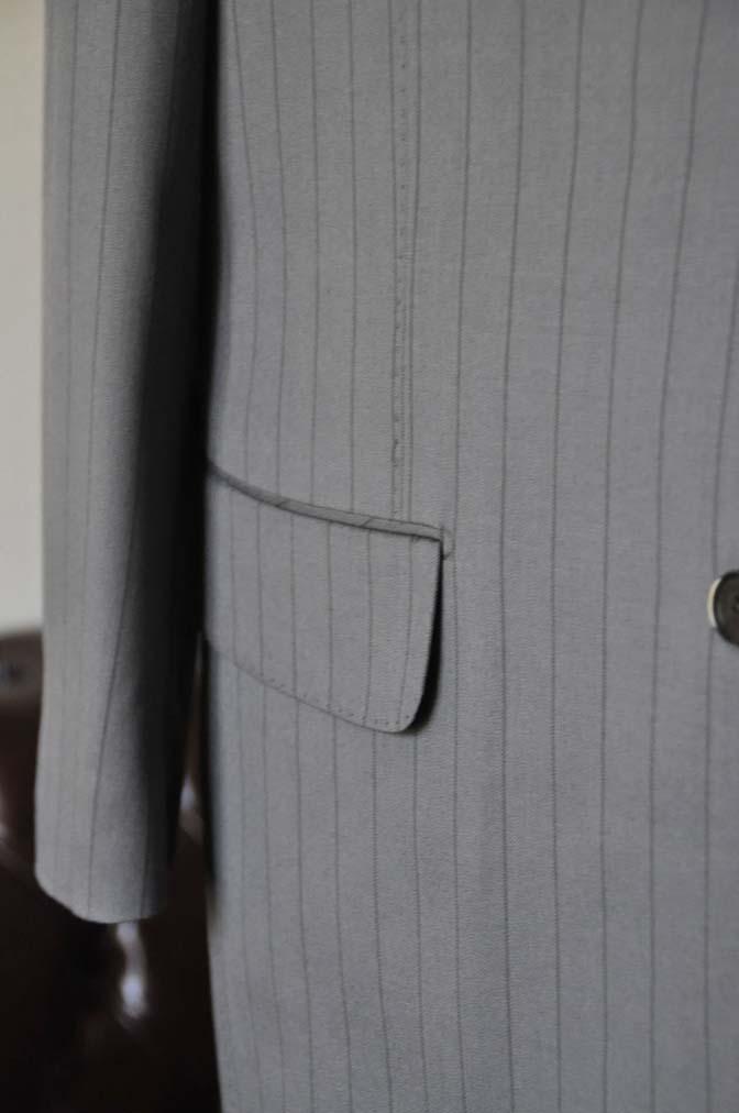 DSC0069-1 お客様のスーツの紹介- Biellesi グレーストライプスリーピース-