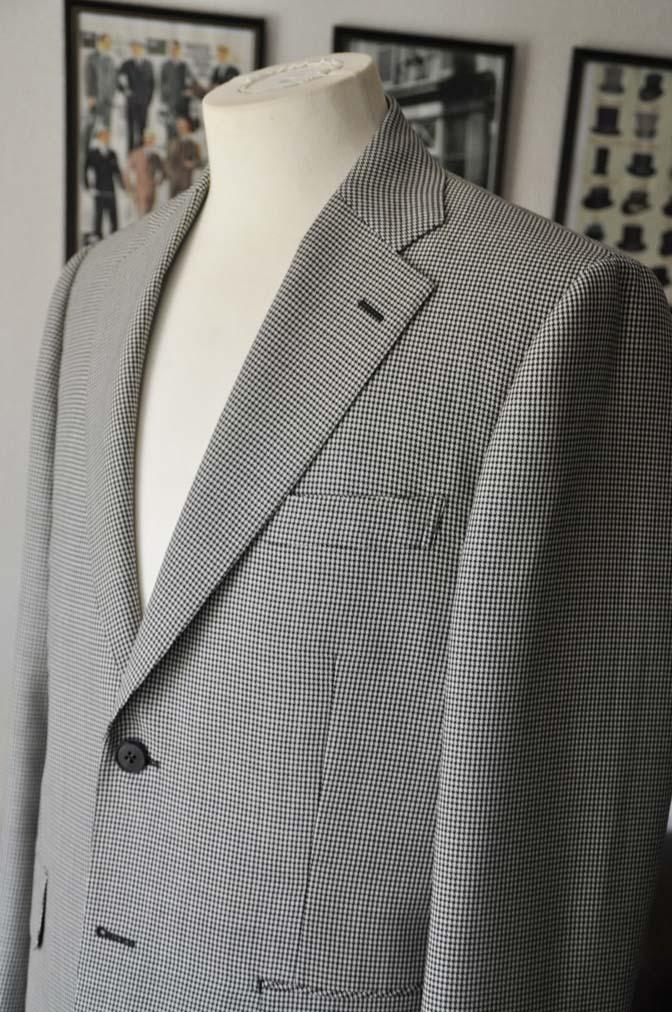 DSC00694 お客様のジャケットの紹介-千鳥格子シングルジャケット-
