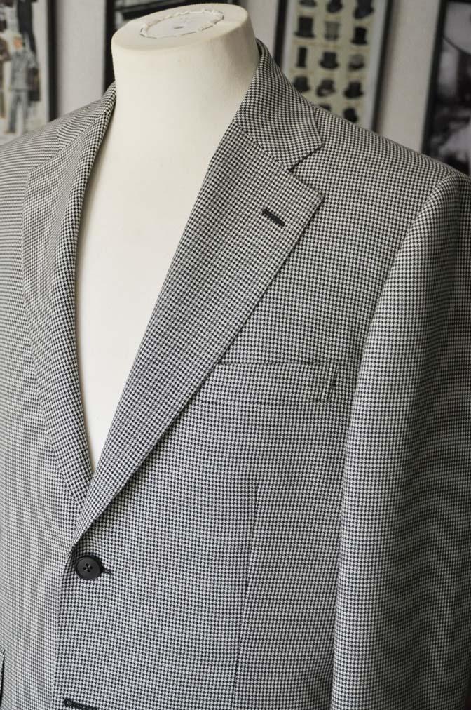 DSC00705 お客様のジャケットの紹介-千鳥格子シングルジャケット-
