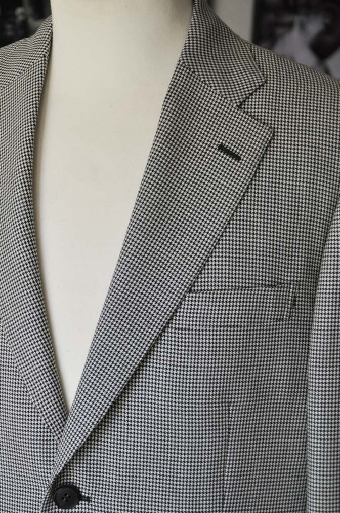 DSC00716 お客様のジャケットの紹介-千鳥格子シングルジャケット-