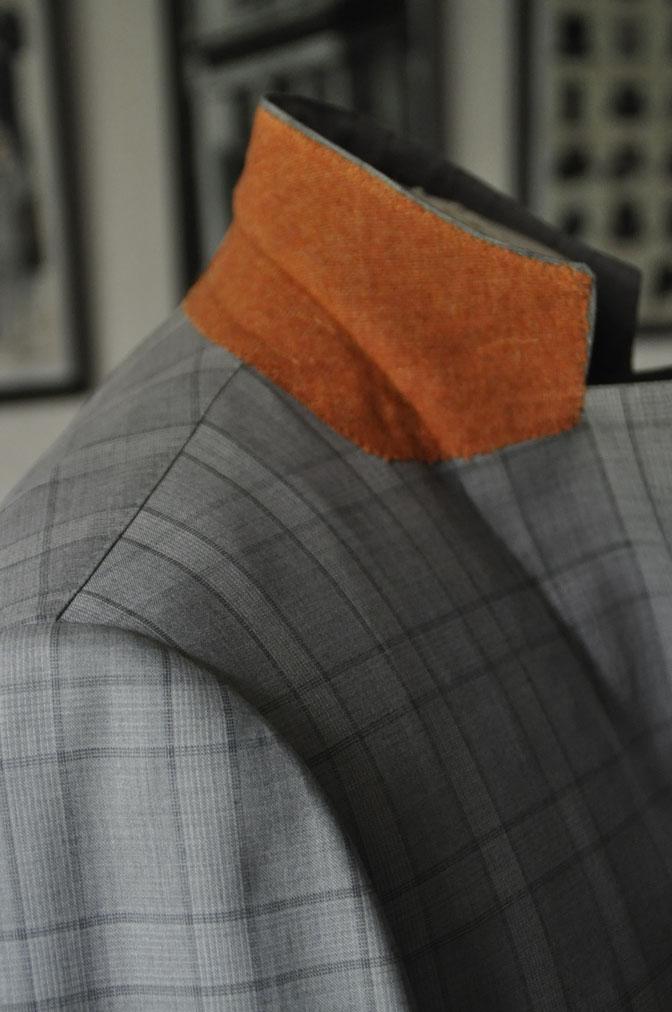 DSC00733 お客様のスーツの紹介-DORMEUIL Tropical Amadeus グレーチェック -