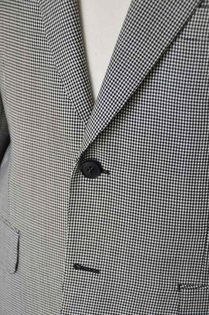 DSC00734 お客様のジャケットの紹介-千鳥格子シングルジャケット-