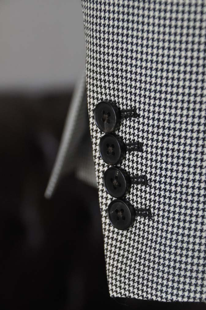 DSC00764 お客様のジャケットの紹介-千鳥格子シングルジャケット-