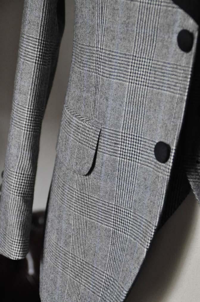 DSC0079-3 お客様のウエディング衣装の紹介- DARROW DALEグレンチェックフランネルタキシード風衣装-DSC0079-3 お客様のウエディング衣装の紹介- DARROW DALEグレンチェックフランネルタキシード風衣装- 名古屋市のオーダータキシードはSTAIRSへ