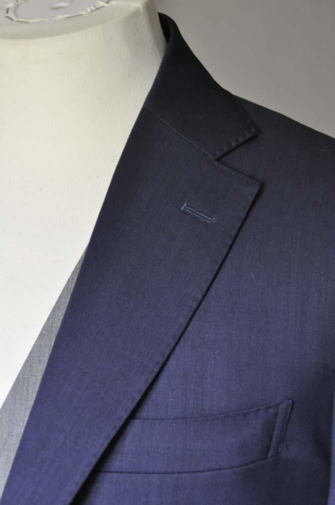 DSC0081-1 お客様のウエディング衣装の紹介-Biellesi ネイビースーツ ライトグレーベスト- 名古屋の完全予約制オーダースーツ専門店DEFFERT