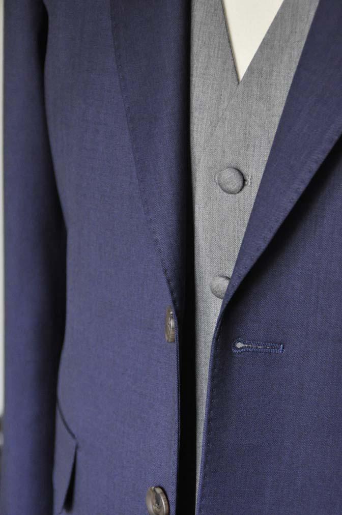 DSC0083-1 お客様のウエディング衣装の紹介-Biellesi ネイビースーツ ライトグレーベスト-DSC0083-1 お客様のウエディング衣装の紹介-Biellesi ネイビースーツ ライトグレーベスト- 名古屋市のオーダータキシードはSTAIRSへ