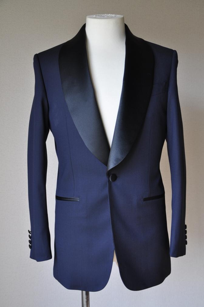 DSC00871 お客様のスーツの紹介-BIELLESI ネイビータキシード-