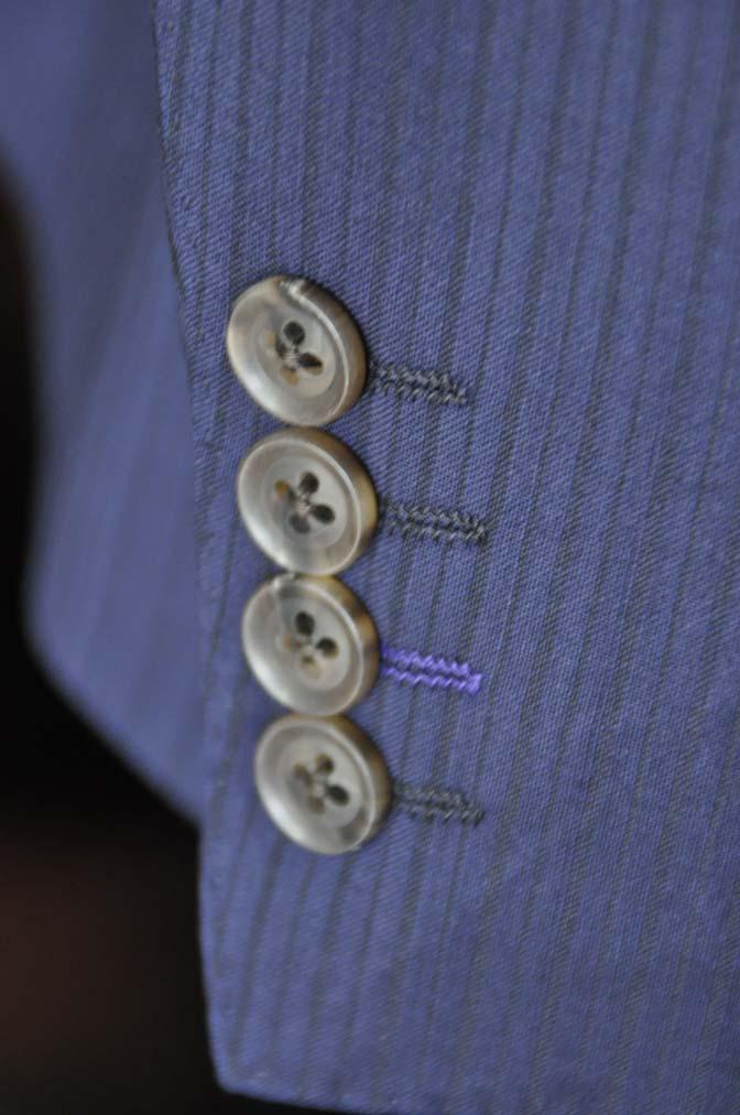 DSC00902 お客様のスーツの紹介-Biellesi ネイビーストライプ-