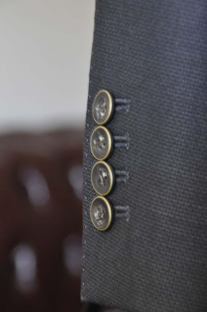 DSC0092-1 お客様のスーツの紹介- DUGDALE BROS 無地ネイビースリーピース- 名古屋の完全予約制オーダースーツ専門店DEFFERT