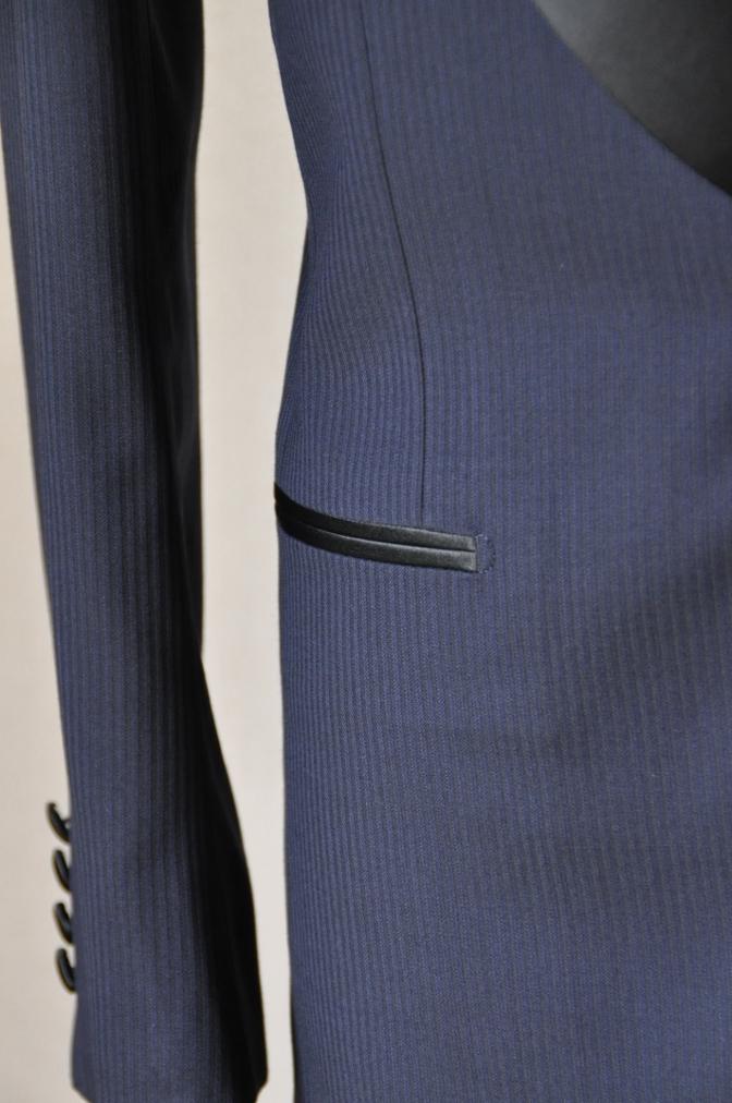 DSC00921 お客様のスーツの紹介-BIELLESI ネイビータキシード-