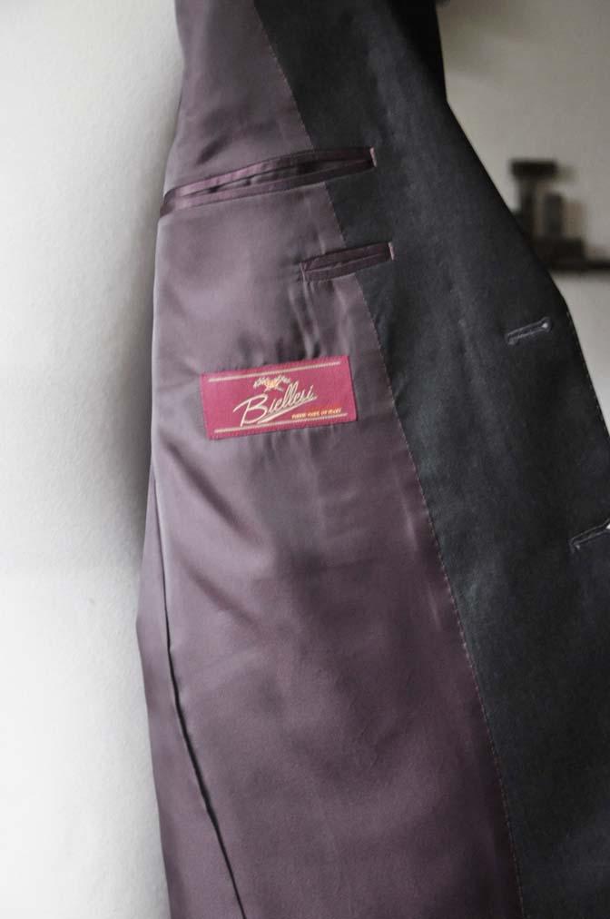DSC0097-3 お客様のスーツの紹介-Biellesi無地グレースーツ-