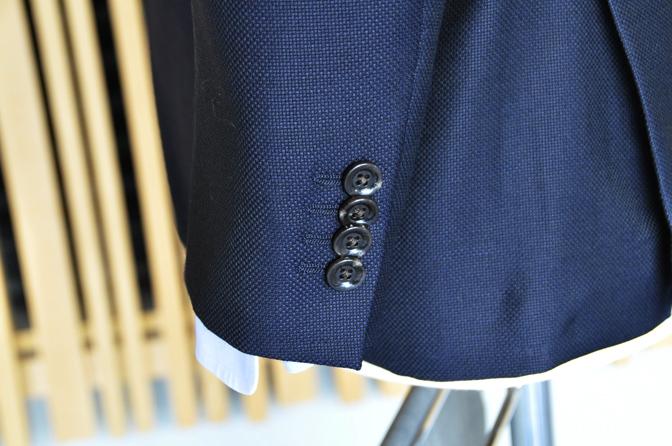DSC0104-6 オーダージャケットの紹介-MARLANE 無地ネイビージャケット-