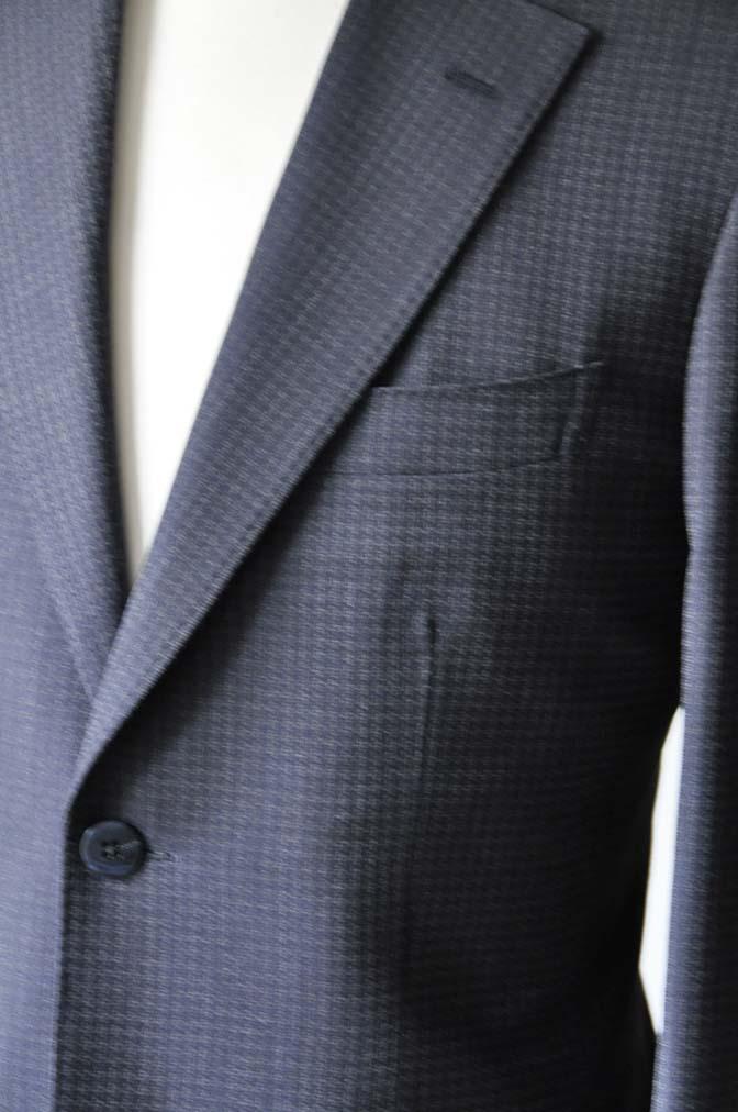 DSC0106-3 お客様のスーツの紹介-Biellesiネイビーグレースーツ-