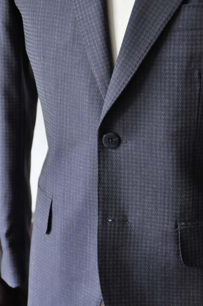 DSC0107-2 お客様のスーツの紹介-Biellesiネイビーグレースーツ-
